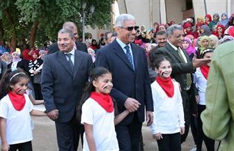 استعراضات فرعونية ونوبية في احتفالية كلية التربية بقنا باليوم العالمي للطفل   صور