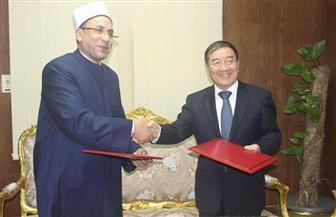 """أمين """"البحوث الإسلامية"""" يلتقي سفير الصين لبحث دعم جهود الأزهر في مواجهة الإرهاب   صور"""