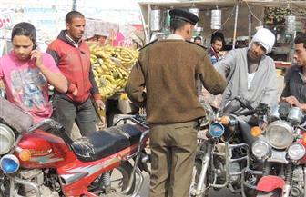 حملات موسعة لضبط الدراجات البخارية غير المرخصة بعد استخدامها فى عمليات إرهابية