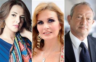 """ساويرس ويسرا ودنيا وصلاح يفوزون في استفتاء """"منى الشاذلي"""" لعام 2017"""