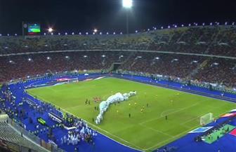"""""""بالروح بالدم.. نفديكي يا فلسطين"""".. هتاف جماهير الأهلي قبل مباراة السلام"""