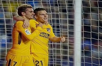 """""""جاميرو"""" يحرز هدفين ويتعادل لأتلتيكو مدريد أمام الأهلي في احتفالية """"السلام"""""""