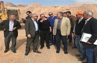 وزير الري يتفقد مشروعات حماية جنوب سيناء من السيول بتكلفة 200 مليون جنيه  صور