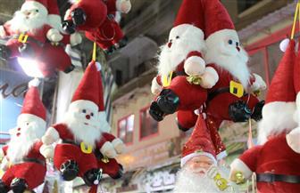 الإسكندرية تتزين احتفالا برأس السنة الميلادية | صور