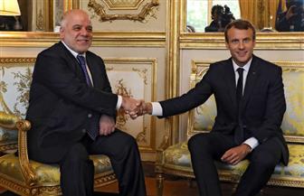 """""""الإليزيه"""": ماكرون يؤكد للعبادي دعم فرنسا لوحدة وأمن وسيادة العراق"""