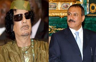 """6 سنوات تفصل بين مقتل """"القذافي"""" و """"صالح"""".. """"المصير واحد"""""""