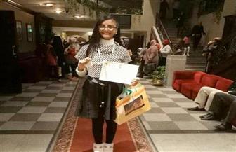 """فوز طالبة بمدرسة في شبرا الخيمة بالمركز الثاني بجائزة """"لمحات من الهند"""""""