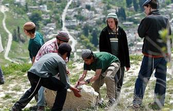 مستوطنون يهود يقتحمون أراضي ببلدة غرب بيت لحم بالضفة الغربية