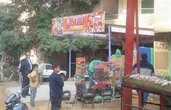 حي بولاق الدكرور يشن حملة إشغالات بطريق كفر طهرمس | صور