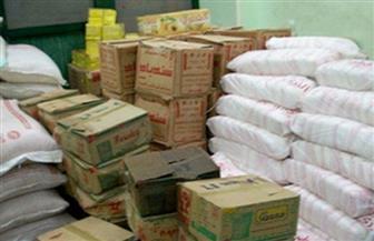 ضبط 47 طن سكر و5 آلاف زجاجة زيت تمويني قبل بيعها في السوق السوداء بالشرقية
