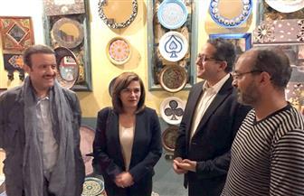 وزير الآثار يصطحب الأمير سلطان بن سلمان في زيارة للمتحف الإسلامي وشارع المعز