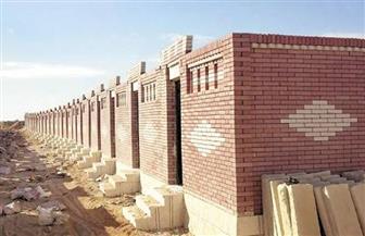 إزالة مقابر غير مرخصة في قرية البستان بدمياط