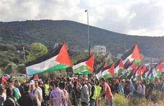 مظاهرات فلسطينية ضد اعتزام ترامب نقل السفارة الأمريكية إلى القدس