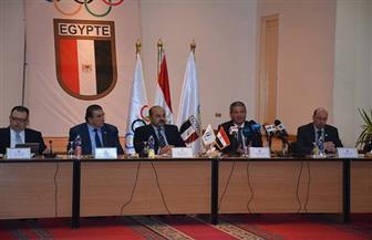 تفاصيل لقاء وزير الرياضة ومسئولي اللجنة الأوليمبية ورؤساء الاتحادات الرياضة