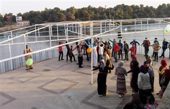 متحف النيل بأسوان يستضيف فعاليات اليوم الثاني لبرنامج الليالي الثقافية| صور