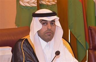 مشعل السلمي يبلغ رئيس مجلس النواب الليبي تضامنه ضد التدخلات الخارجية | فيديو