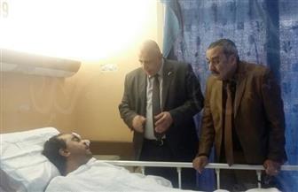 """""""القوى العاملة"""": حالة المواطن المصري المعتدى عليه بالكويت مستقرة   صور"""