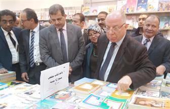 وزير الثقافة يفتتح معرض الكتاب بقصر ثقافة أسيوط | صور