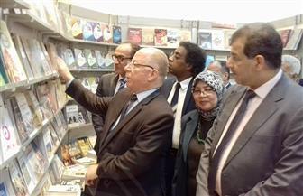 بحضور وزير الثقافة: افتتاح معرض الكتاب بأسيوط | صور