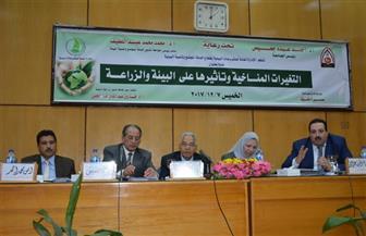 ندوة بجامعة أسيوط: مصر 28 عالميًا في الاحتباس الحراري.. و17% من المصريين يعانون ضعفًا في الأمن الغذائي | صور