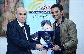 آسر ياسين: عمى السيد ياسين رحل بجسده ولكن أعماله باقية | صوروفيديو