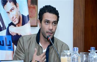 """آسر ياسين في ندوة """"بوابة الأهرام"""": أتمنى أن يحمل أبنائي صفات أسمائهم"""