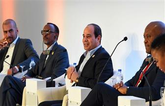 الرئيس السيسي: تجربة مصر رائدة في التواصل مع الشباب.. ووفرنا 200 مليار جنيه للمشروعات الصغيرة