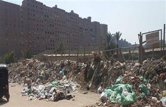 """حي الهرم: قطعة الأرض بـ""""كعبيش"""" سيتم تسويرها لمنع إلقاء القمامة بها وضمها لنا لحين الاستدلال على مالكها   صور"""