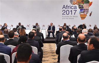 تفاصيل مشاركة الرئيس السيسي في جلسة حول سبل تهيئة مناخ الأعمال وتشجيع الاستثمار بالقارة