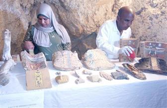 تفاصيل اكتشاف مقبرتين أثريتين غرب الأقصر | فيديو وصور