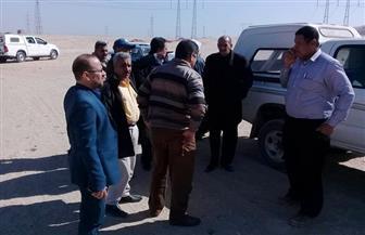 محافظ سوهاج: لجنة تعاين المواقع المقترحة لإنشاء سدود حماية مناطق البلينا الأثرية من السيول