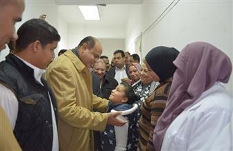 محافظ مطروح يفتتح العناية المركزة بمستشفي النساء والتوليد | صور