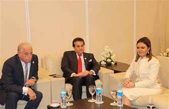 """محافظ جنوب سيناء يلتقي وزراء الاستثمار والسياحة والكهرباء والتعليم العالي على هامش مؤتمر """"الكوميسا"""""""