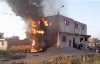إصابة 8 أشخاص من أسرة واحدة فى انفجار أنبوبة بوتاجاز بالفيوم