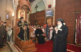 البابا تواضروس يعود للقاهرة بعد زيارة رسمية إلى الكويت استمرت 5 أيام