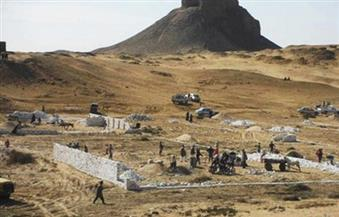 """الآثار: إزالة كافة التعديات بمنطقة """"دهشور"""".. وبناء سور يفصل المنطقة الأثرية عن المحاجر"""