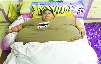 وزنها نصف طن.. فتاة مصرية تصل إلى الهند لإجراء جراحات لإنقاص الوزن