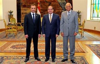 الرئيس السيسي لرئيس مجلس الأمة الكويتي: علاقات البلدين متينة وأمن الخليج من أمن مصر| صور