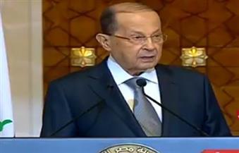 رئيس لبنان : الأمة العربية تعيش يوما أسود بسبب قرار ترامب الخاص بالجولان