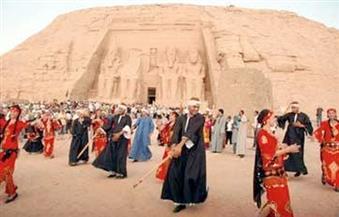 محافظ أسوان يكلف نائبه بمتابعة آخر الاستعدادات لاحتفالات تعامد الشمس