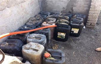 بالصور.. أمن بورسعيد يضبط  2220 لتر بنزين وسولار مدعم قبل البيع في السوق السوداء