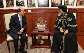 الرئيس اللبناني: مصر نموذج  للاعتدال والتعايش بين الأديان