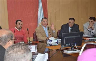 بالصور.. محافظ كفرالشيخ يبحث آليات تفعيل توصيات مؤتمر الشباب