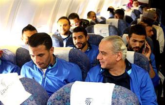 """عودة فريق المصري بعد لقاء الذهاب مع """"إيفانى أوبا"""" النيجيري"""