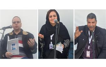 """بالصور.. شعراء مصريون يحيون 15 أمسية في """"الجنادرية"""" تحت إطار """"مصر ضيف شرف المهرجان"""""""