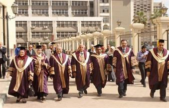 """بالصور.. """"طب طنطا"""" تحتفل بتخريج الدفعة الخامسة من الطلاب الماليزيين"""