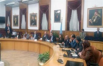 """جامعة حلوان  تبرم بروتوكول تعاون مع """"تطوير العشوائيات"""""""