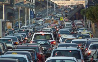 كثافات مرورية  بشارع رمسيس نتيجة حادث تصادم