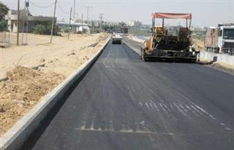 64 مليون جنيه لإعادة رصف 85 كم من طريق (القاهرة - أسوان) الزراعي بسوهاج