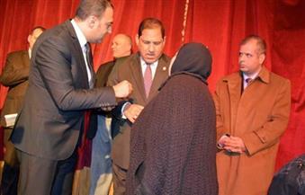 """بالصور.. محافظ الغربية يُكرم أسر الشهداء باحتفالية  """"في حب مصر"""""""